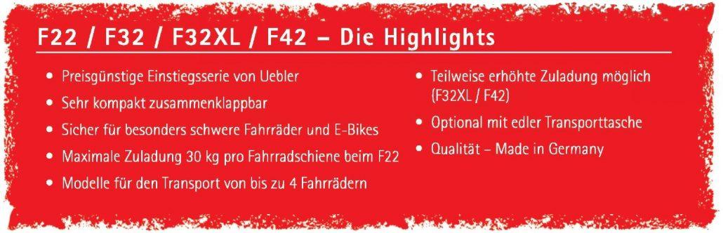 Wonderbaar F22, F32, F32 XL, F42 - UEBLER EL-98