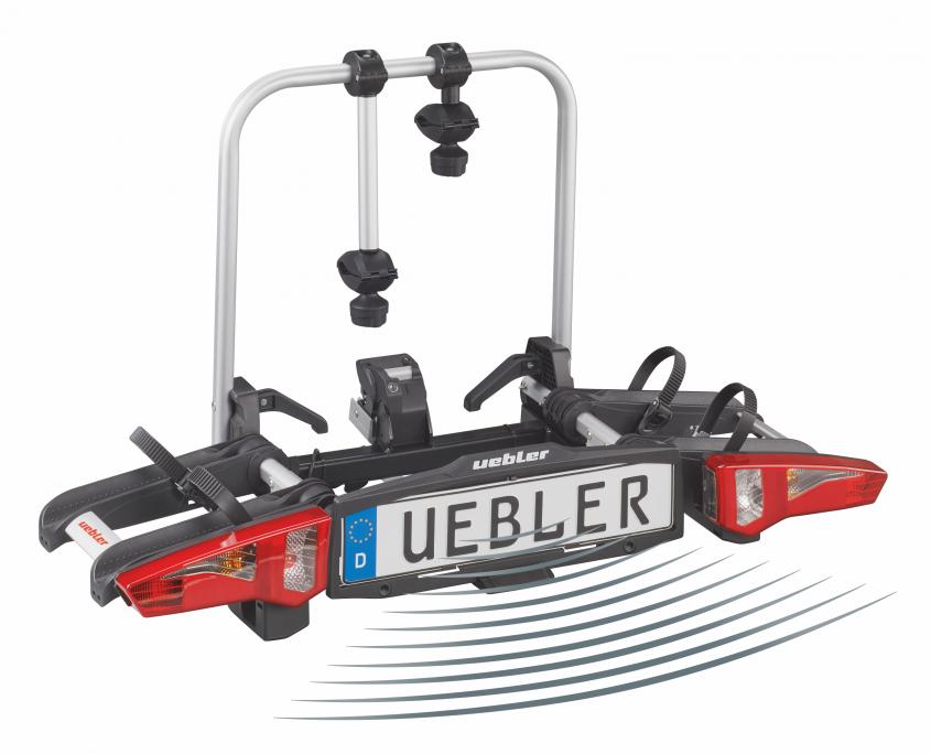 Uebler Kupplungsträger X21S 15760 2 Fahrräder 60kg klappbar Tasche+Kennzeichen