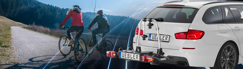 Uebler Heckträger Kupplungsträger Abstandshalter für 1.Fahrrad abschließbar 1...
